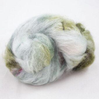 Fluffy mohair og silke garn