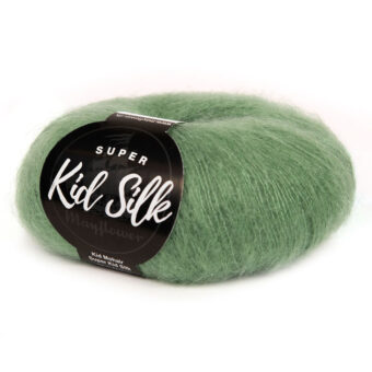 SUPER KID SILK MYRTELGRØN (79)