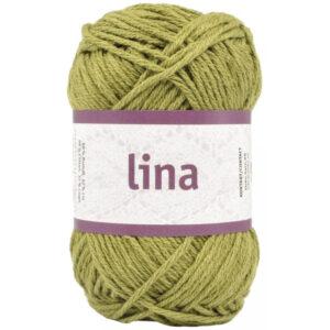 Lina garn khaki grøn