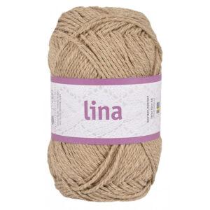Lina lys brun