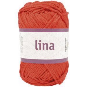Lina garn rød
