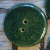 keramik knap flaskegrøn detalje