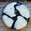 keramik knap hvid sort detalje