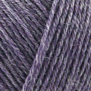 Nettle-Sock-Yarn-mørk-lilla garn