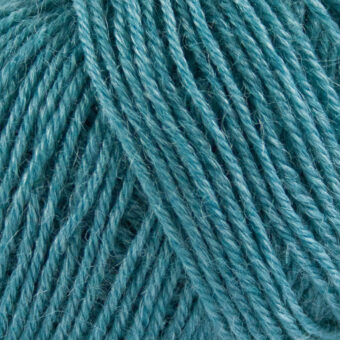 Nettle-Sock-Yarn-petrol garn
