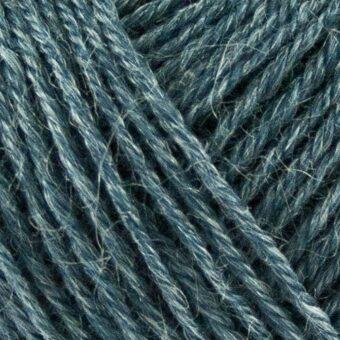 Nettle-Sock-Yarn-støvet-blå garn