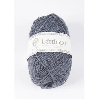 lettlopi garn Stone blue heather