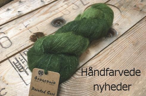 araucania håndfarvet garn